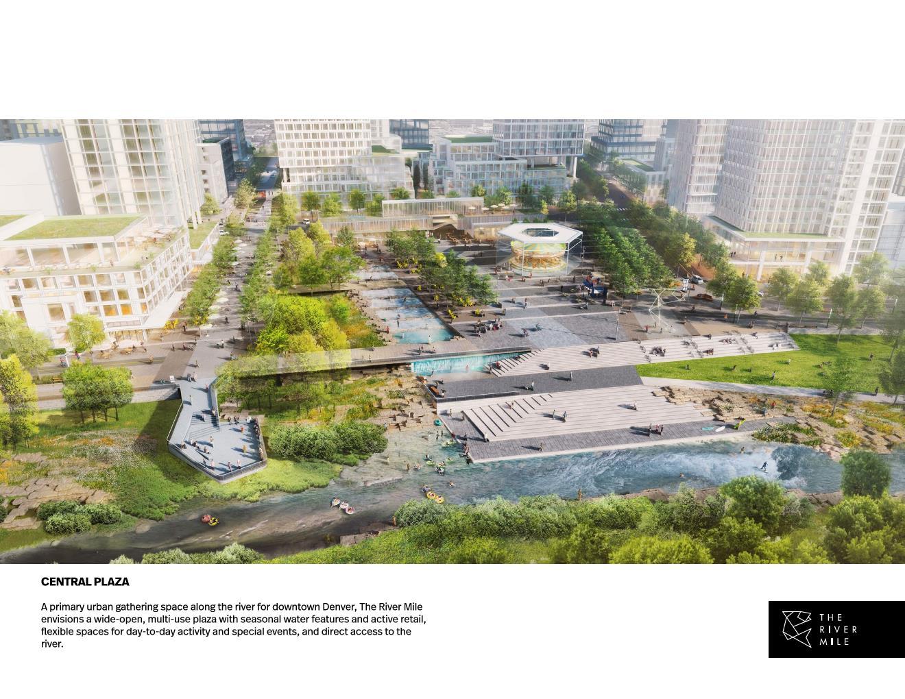 The River Mile Central Plaza