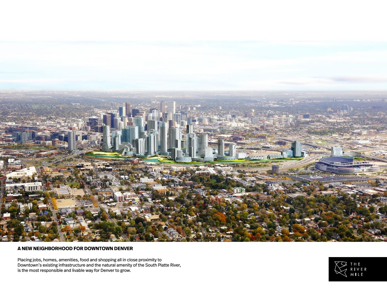 The River Mile - New Neighborhood for Downtown Denver